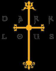 Dark Lotus Cross Dark lotus cross logo