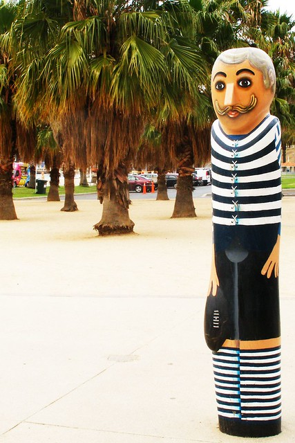 AFL Player Bollard