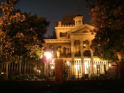 Disney's Haunted Mansion, Anaheim CA.