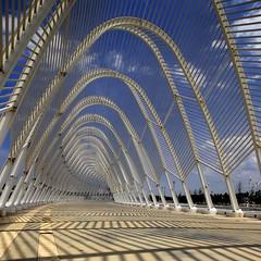 Greece - Athens - Calatrava's Olympic Agora