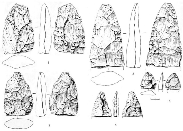 Lithic tools and Archaeology of Middle Palaeolithic Central Europe