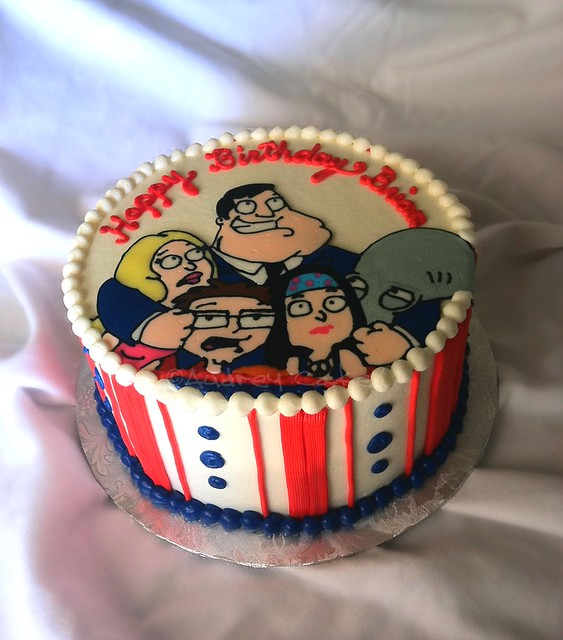 Cake Tv Show Usa : American Dad TV Show Birthday Cake Flickr - Photo Sharing!