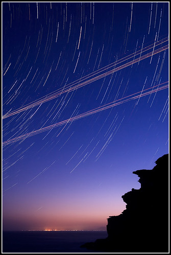 Startrails and Human Journeys #2