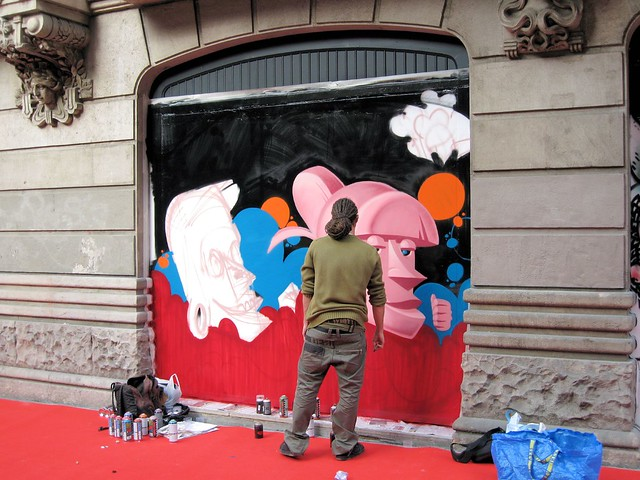 Graffiti Artists at Work 1