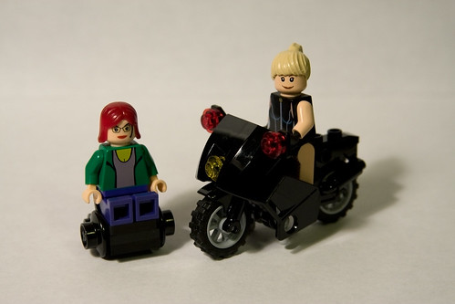 Birds of Prey Minifigs