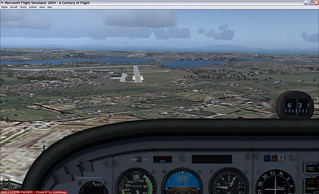 NZWP 03 Approach in flight simulator