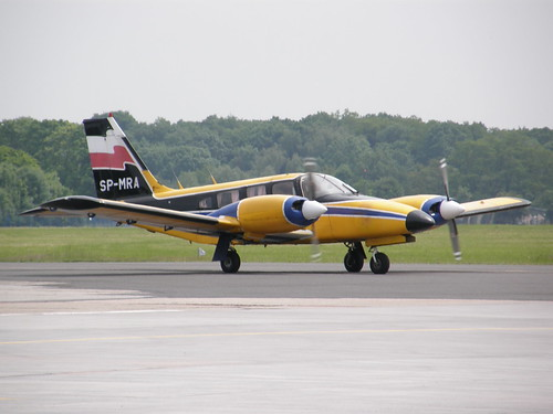 Aircraft (PA34) silhouette