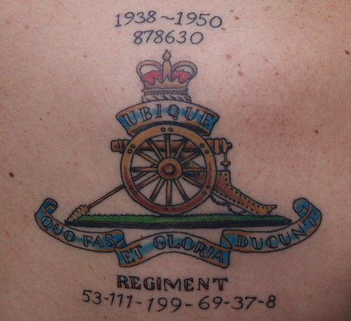 28 artillery tattoo designs military ink we will remember them by rogue gunner 90 army. Black Bedroom Furniture Sets. Home Design Ideas