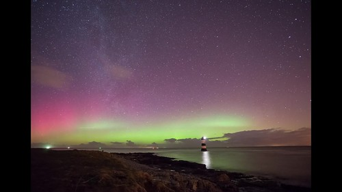 VIDEO: Aurora Over Anglesey, North Wales.