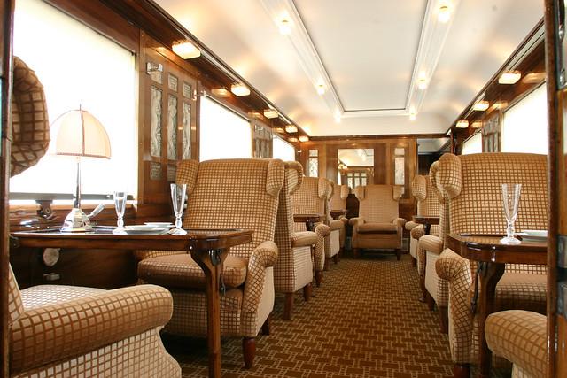 Pullman Orient Express - dining car | Flickr - Photo Sharing!