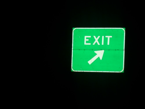 Exit, but where to?