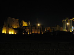 Luxor Temple at night (Luxor, Egypt)