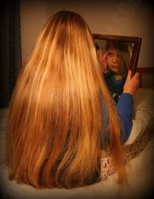 how to get long hair like rapunzel