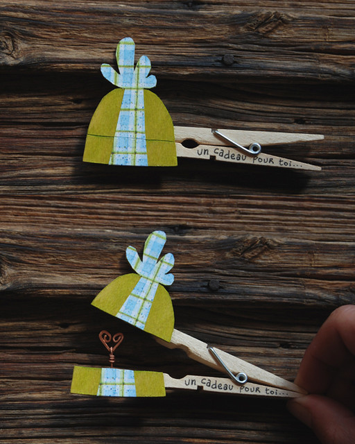 Creative Clothespin Ideas