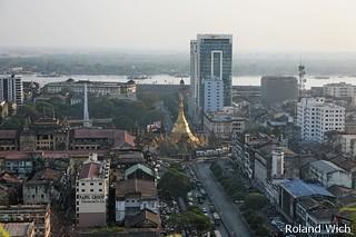 Yangon - Downtown View