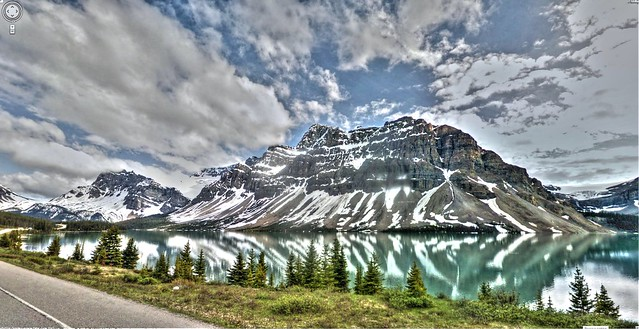 Google Street View - Pan-American Trek - Crowfoot Mountain