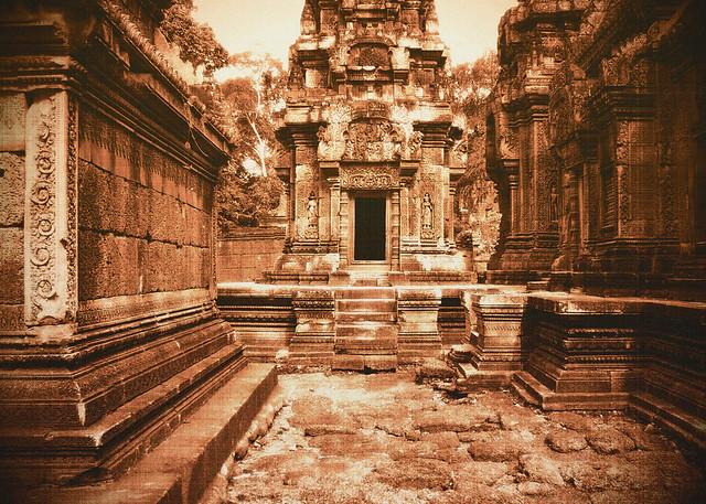 Within Banteay Srei