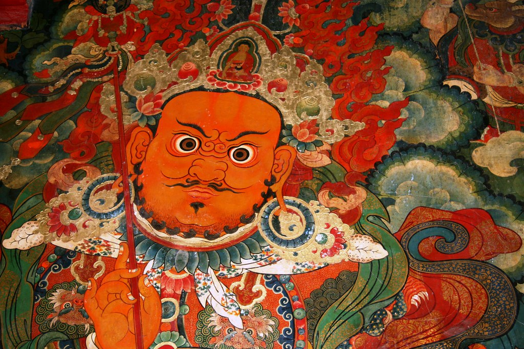 Mural inside the Potala Palace