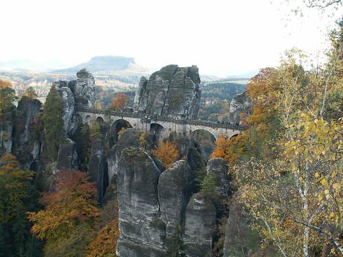 Basteibrücke im Elbsandsteingebirge - Sächsische Schweiz