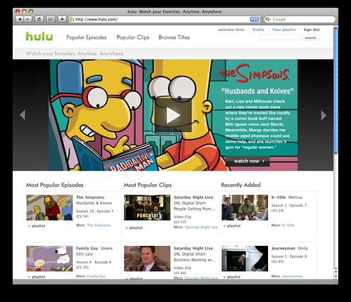 Hulu | Flickr - Photo Sharing!