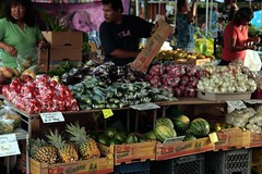 Fruit and veg at the Hilo farmers market