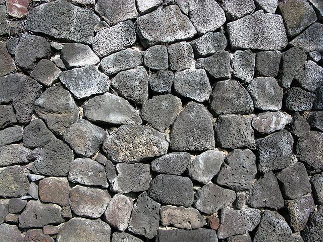 Lava Rock Wall | Flickr - Photo Sharing!
