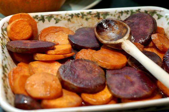 bourbon glazed sweet potatoes. | Flickr - Photo Sharing!