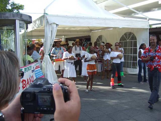 Drummers, Martinique