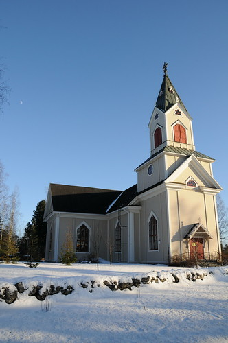 church finland lestijärvi