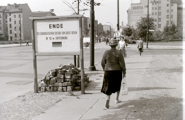 At the border, Berlin, 12 September 1959