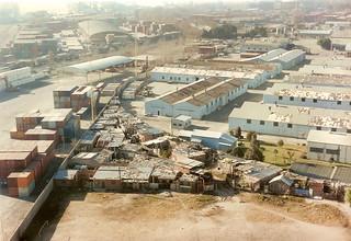 Villa 31  lado Oeste en 1995