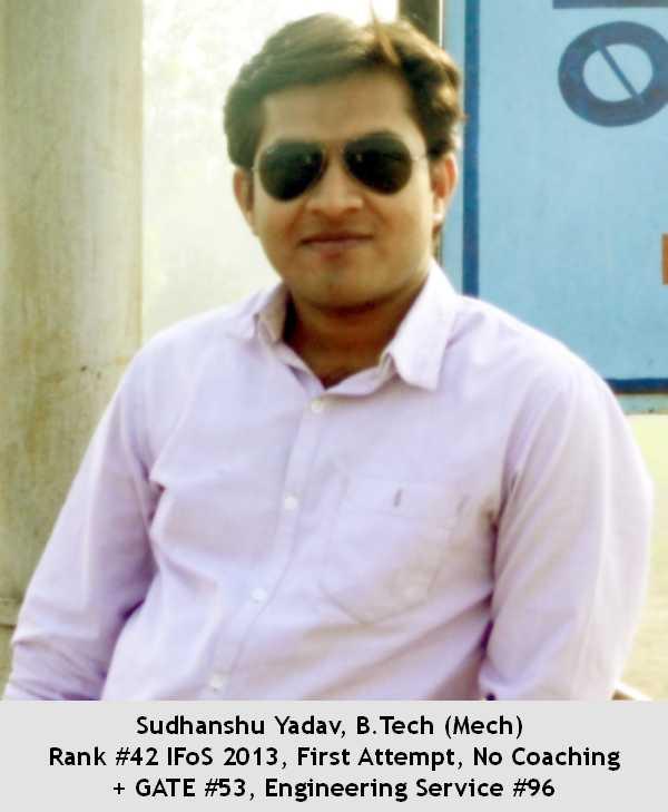 IFoS 2013-AIR 42-Sudhanshu Yadav