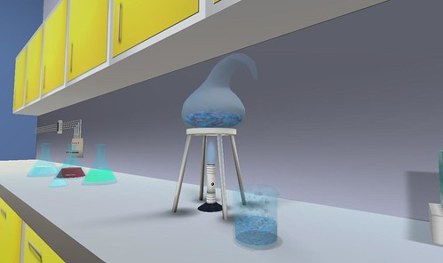 Second Life: Nanotechnology Island