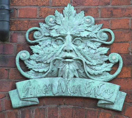 Green Man Dudley