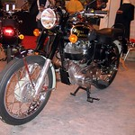 Royal Enfield Bullet Motorcycle in Black