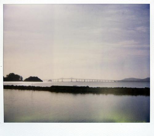 film water sunshine polaroid bay spectra expired sparkly breakwater richmondbridge marinislands