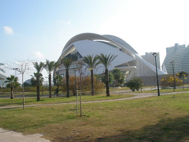 valencia palacio arte:
