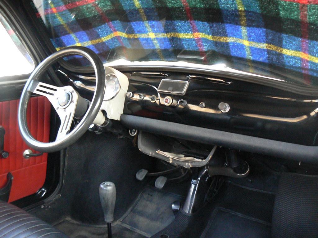 """Old Fiat 500L """"cockpit"""""""