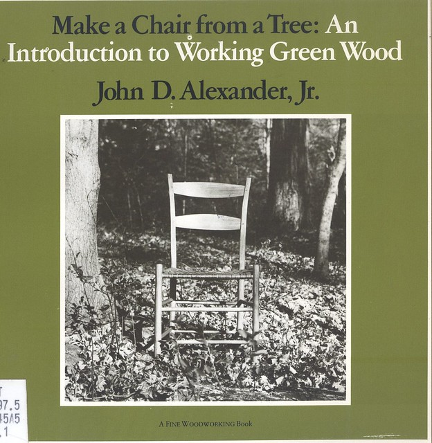 make a chair from a tree book 3