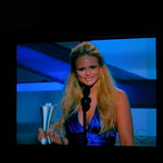 "Miranda Lambert accepting award for Album of the Year for ""Crazy Ex-Girlfriend"""
