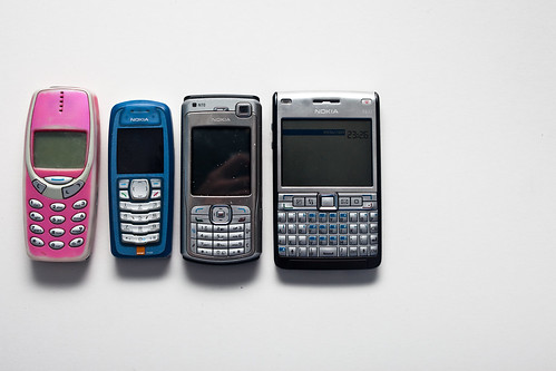 7 years of phones (160/365)