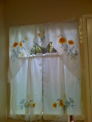 sunflower kitchen curtains | With Highest Price on PopWatchers