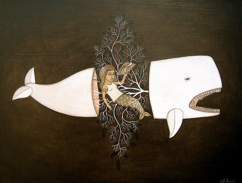 "Evan B. Harris ""White Whale and shells"""