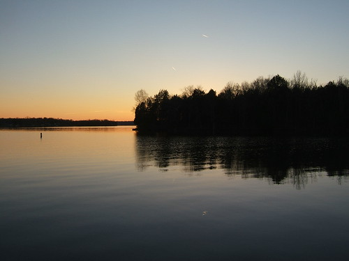 sunset landscape december 2007 oldhickorylake