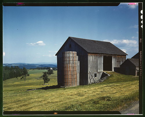 Farmland in the Catskill country, in New York State  (LOC)