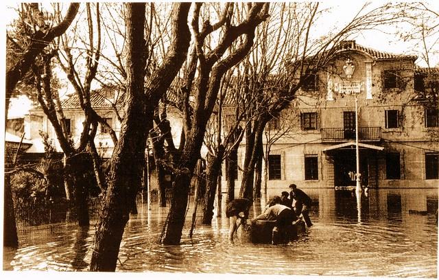 Inundación de 1947, Fábrica de Armas