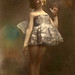 A hand tinted fairy