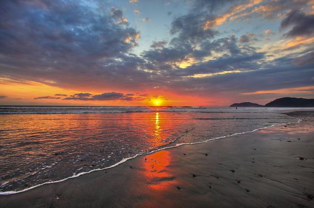 Sunset at Jaco Beach III