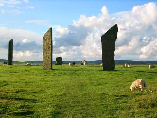 Stenness Stones Orkney Islands