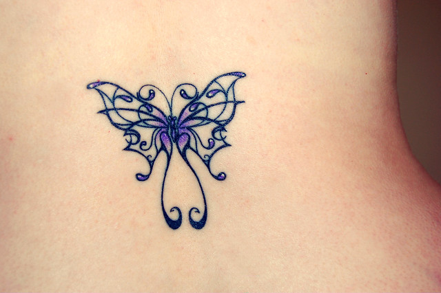 lupus butterfly tattoo flickr photo sharing. Black Bedroom Furniture Sets. Home Design Ideas